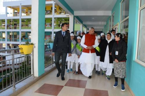 His Excellency, the  Governor of Himachal Pradesh, Acharya Dev Vrat  visited Baru Sahib (12)