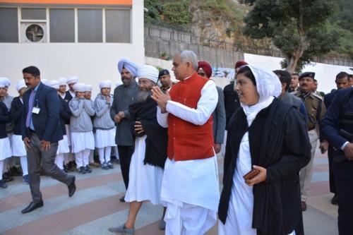 His Excellency, the  Governor of Himachal Pradesh, Acharya Dev Vrat  visited Baru Sahib (4)