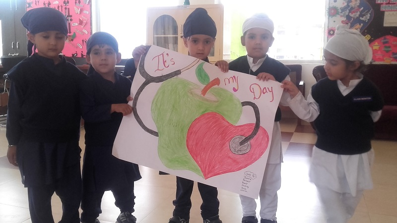 The Special Programs Organized Include Video Shows On World Health Day Talk Tips By Experts And Homeroom Teachers Poster Making