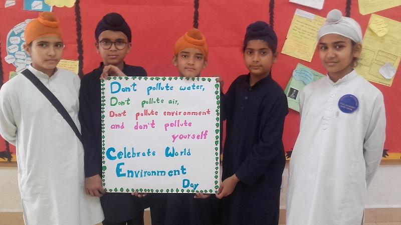 World Environment Day – Akal Academy Baru Sahib