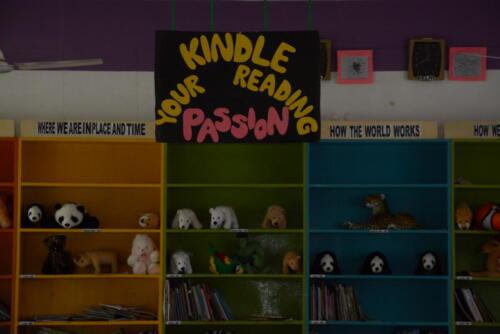 Kindle reading zone