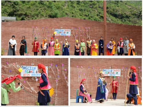 collage of english drama of Ajay house (1)
