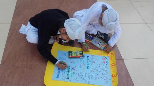 Poster Making on World Food Day