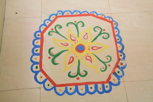 Vegetable Cotton Painting (6)